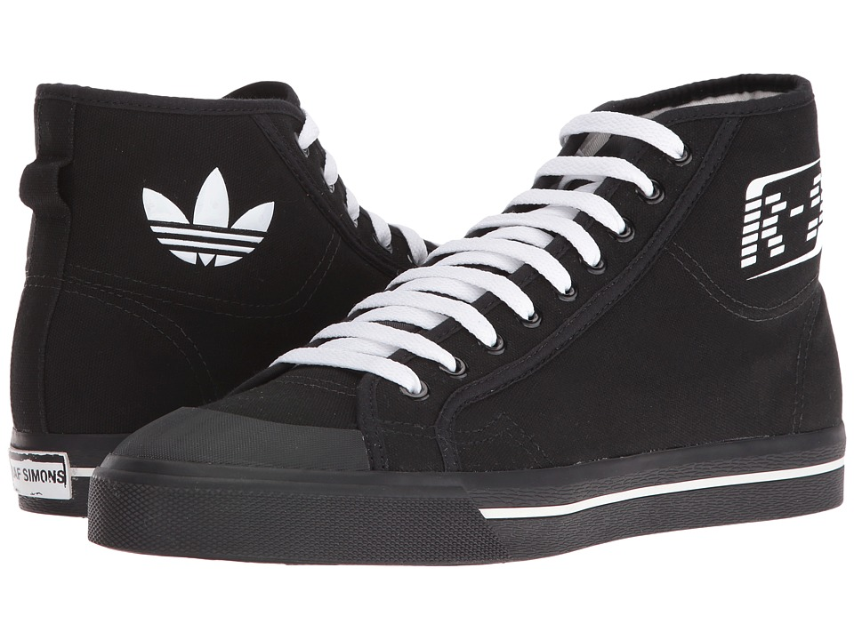 adidas by Raf Simons - Raf Simons Matrix Spirit High-Top (Black/White/Black) Shoes