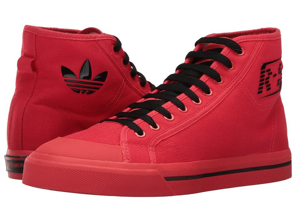 adidas by Raf Simons - Raf Simons Matrix Spirit High-Top (Tomato/Black/Tomato) Shoes