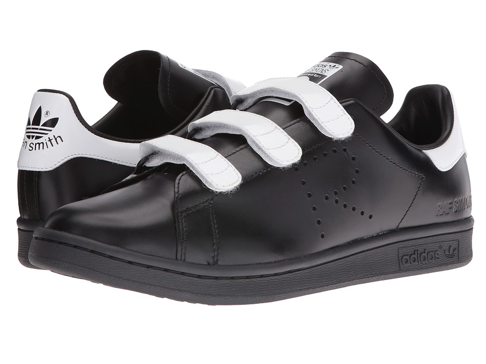 adidas by Raf Simons - Raf Simons Stan Smith CF (Black/Black/White) Shoes