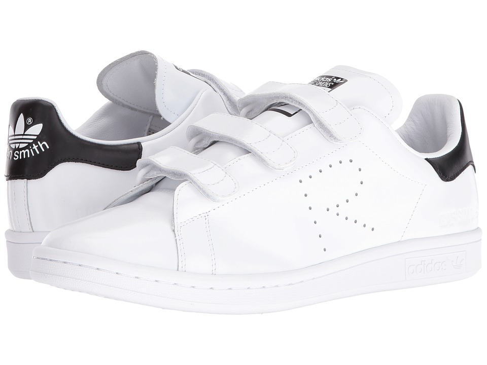 adidas by Raf Simons - Raf Simons Stan Smith CF (White/White/Black) Shoes