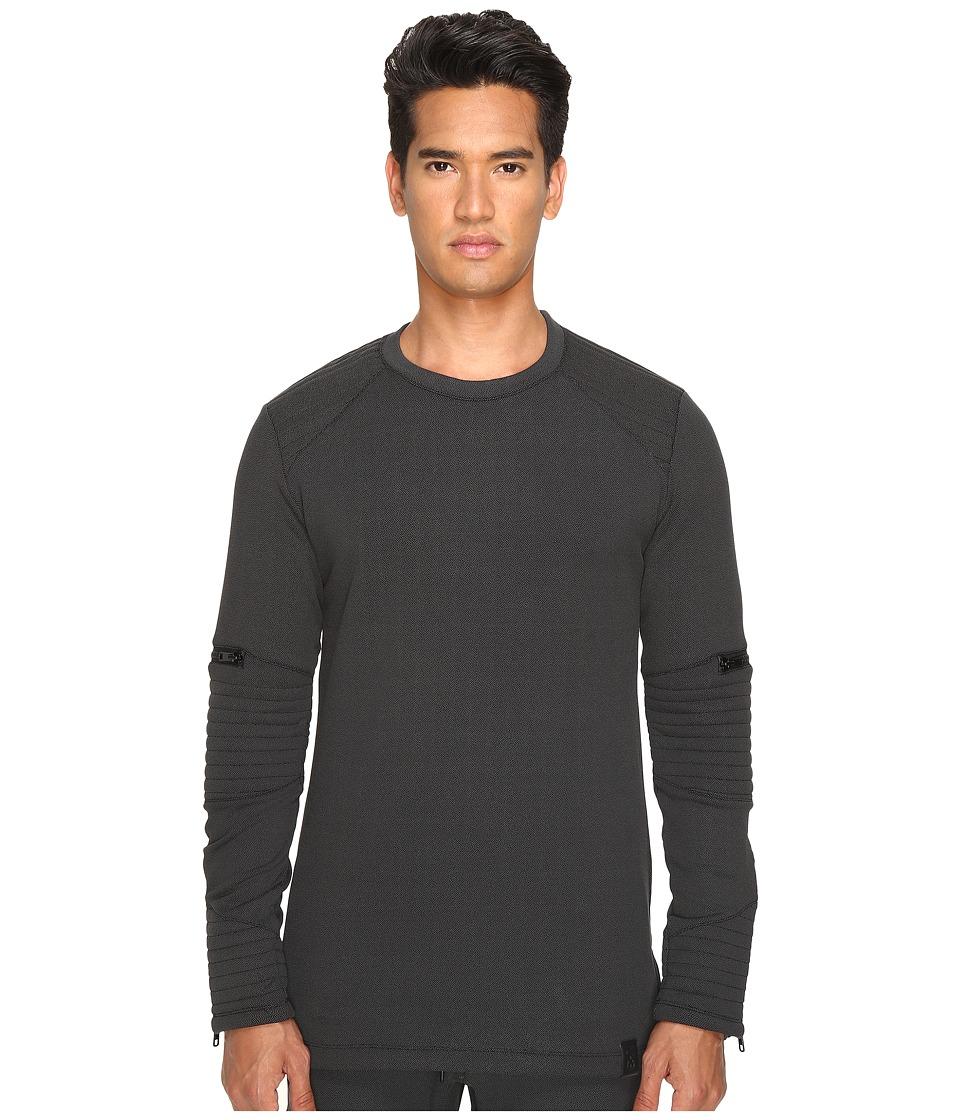 adidas Y-3 by Yohji Yamamoto - Tecfleece Sweatshirt (Black) Men's Sweatshirt