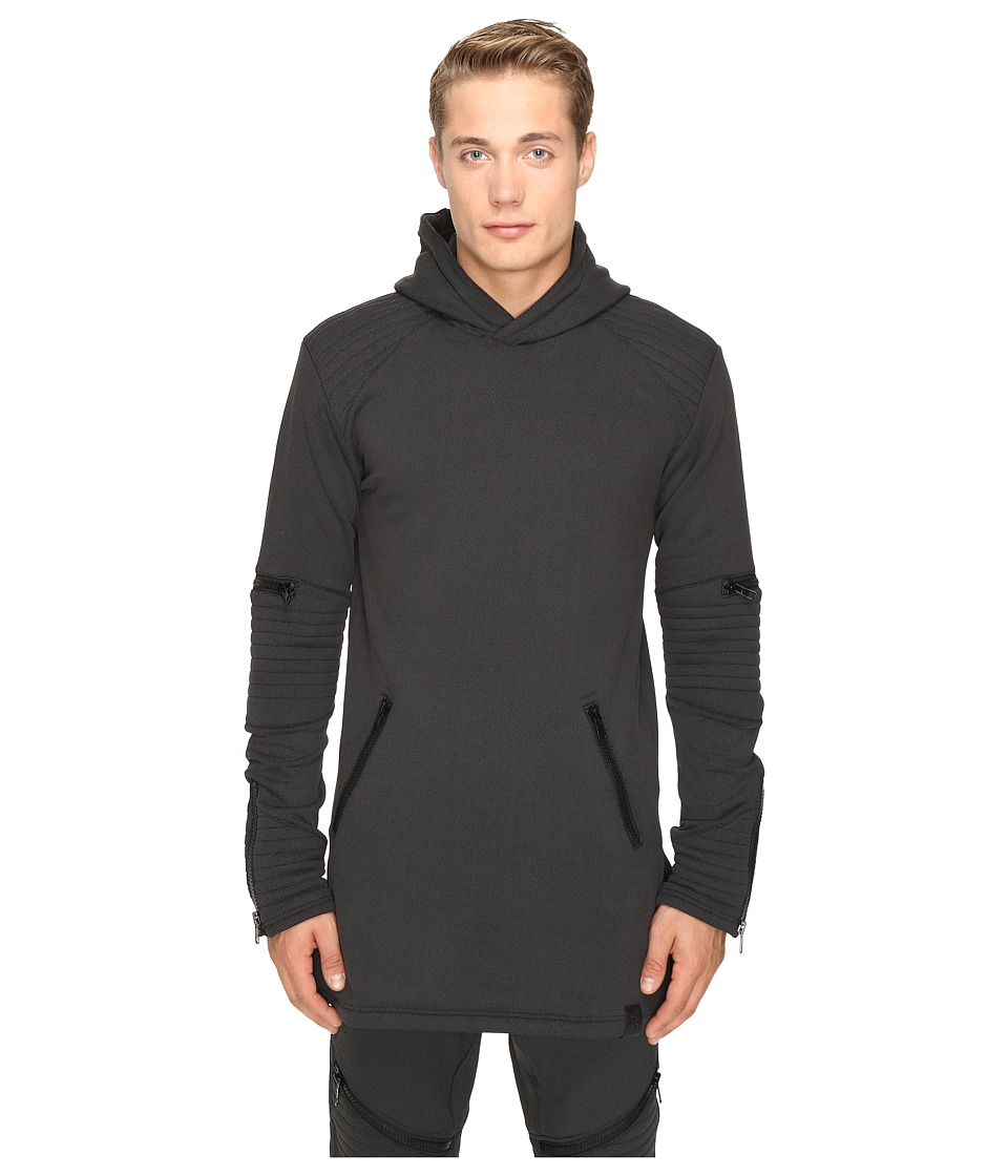 adidas Y-3 by Yohji Yamamoto - Tecfleece Hoodie (Black) Men's Sweatshirt