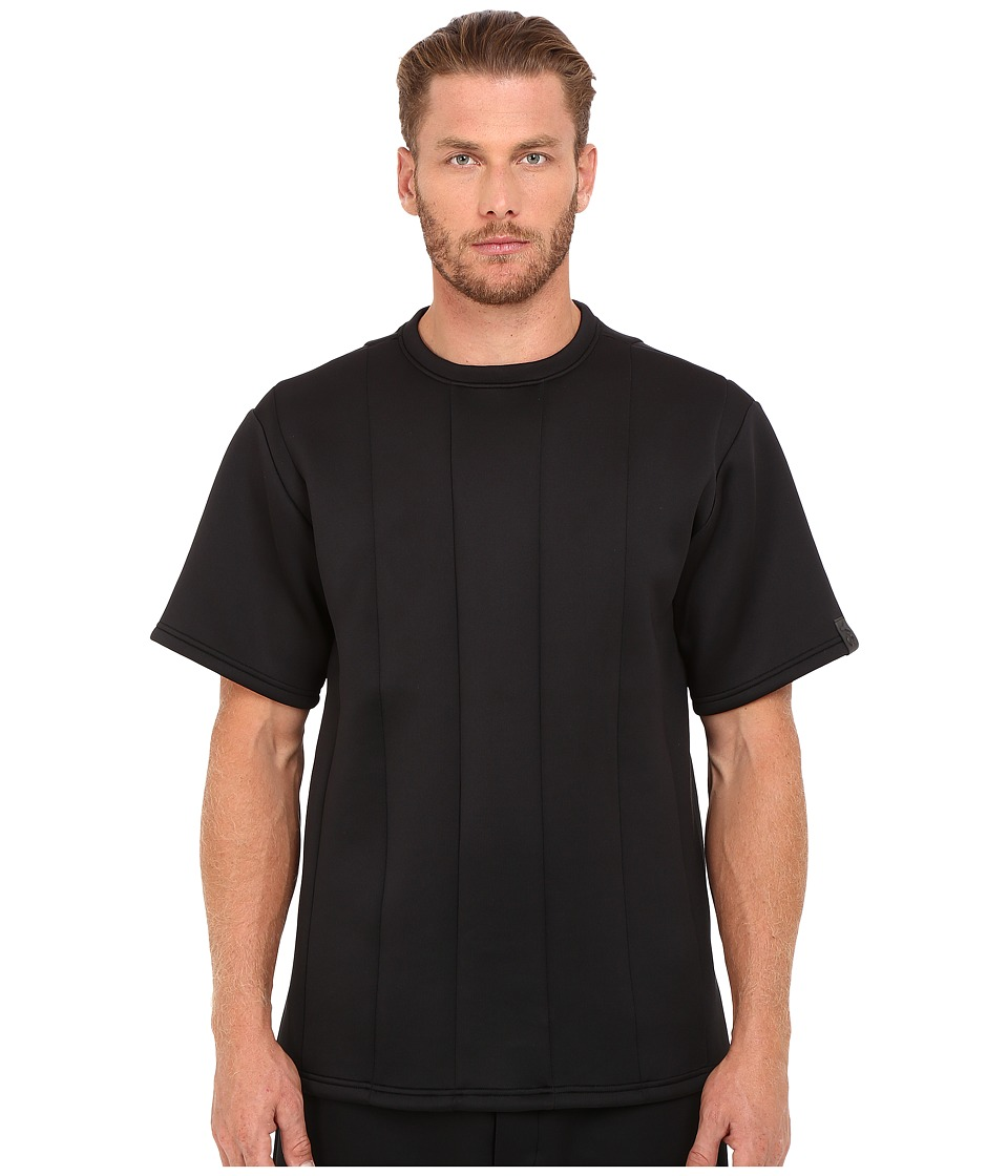 adidas Y-3 by Yohji Yamamoto - Spacer Crew T-Shirt (Black) Men's T Shirt
