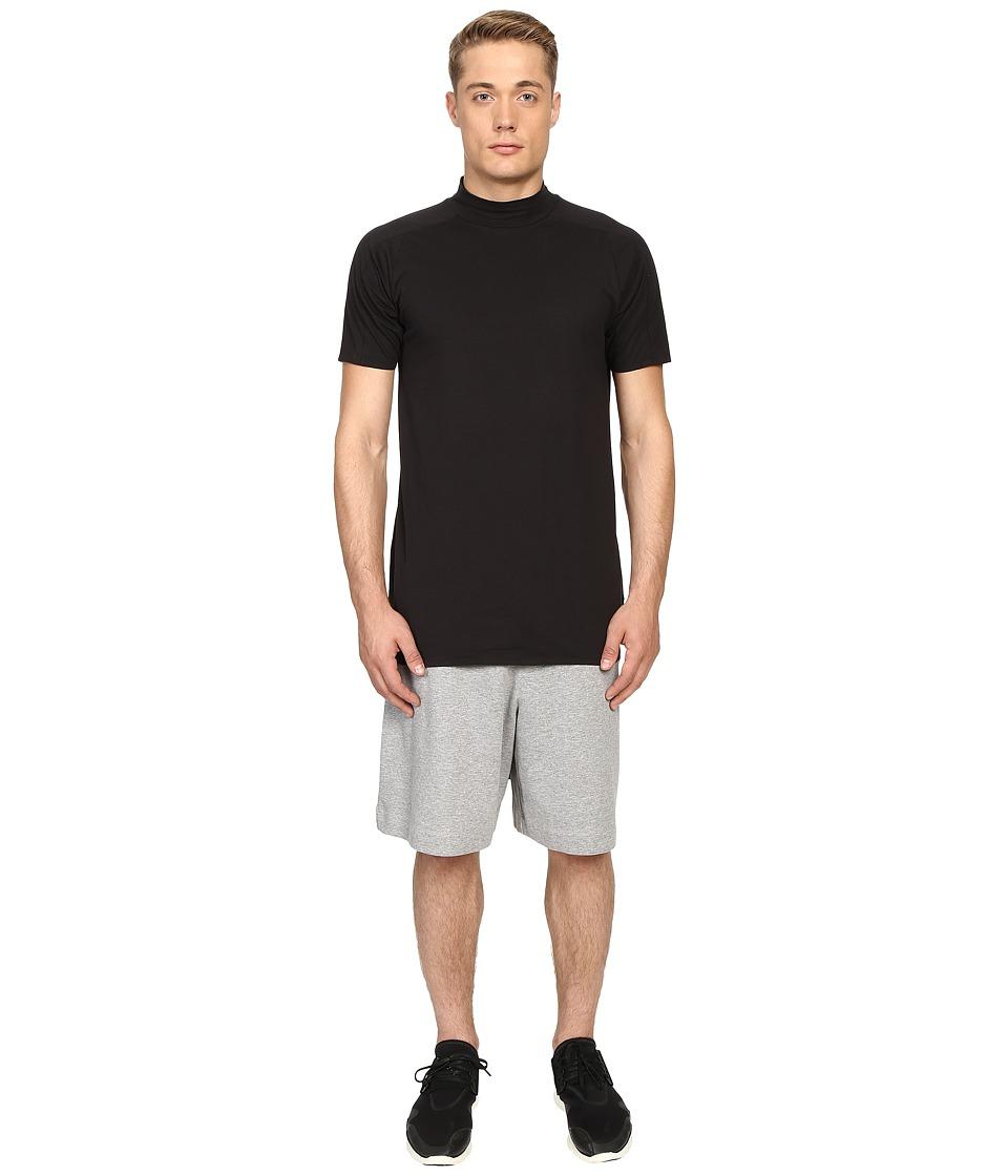 adidas Y-3 by Yohji Yamamoto Collar Long T-Shirt (Black) T Shirt