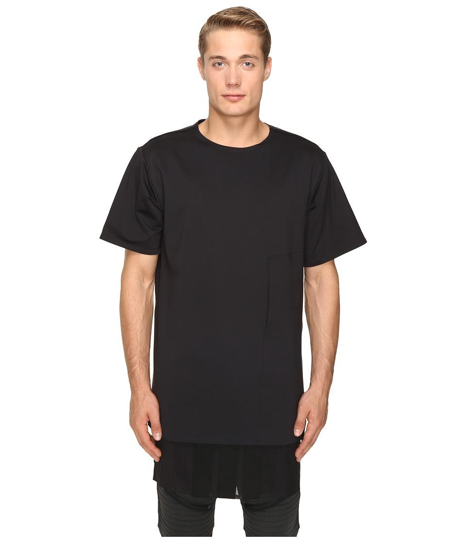 adidas Y-3 by Yohji Yamamoto - Lux FT Pure T-Shirt (Black) T Shirt