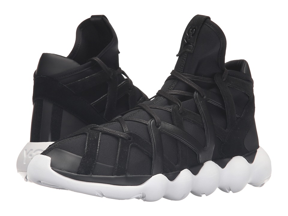adidas Y-3 by Yohji Yamamoto - Kyujo High (Core Black/Core Black/FTW White) Men's Shoes