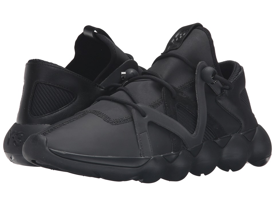 adidas Y-3 by Yohji Yamamoto - Kyujo Low (Core Black/Core Black/Reflective) Men's Shoes