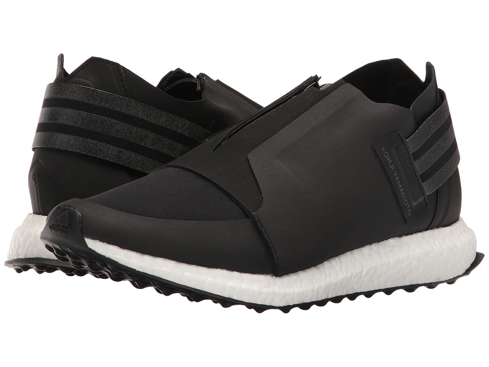 adidas Y-3 by Yohji Yamamoto - X-Ray Zip Low (Core Black/Core Black/FTW White) Men's Shoes