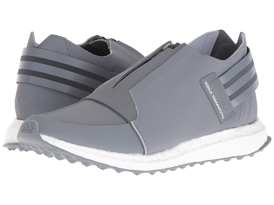 adidas Y-3 by Yohji Yamamoto - X-Ray Zip Low (Vista Grey/Vista Grey/FTW White) Men's Shoes
