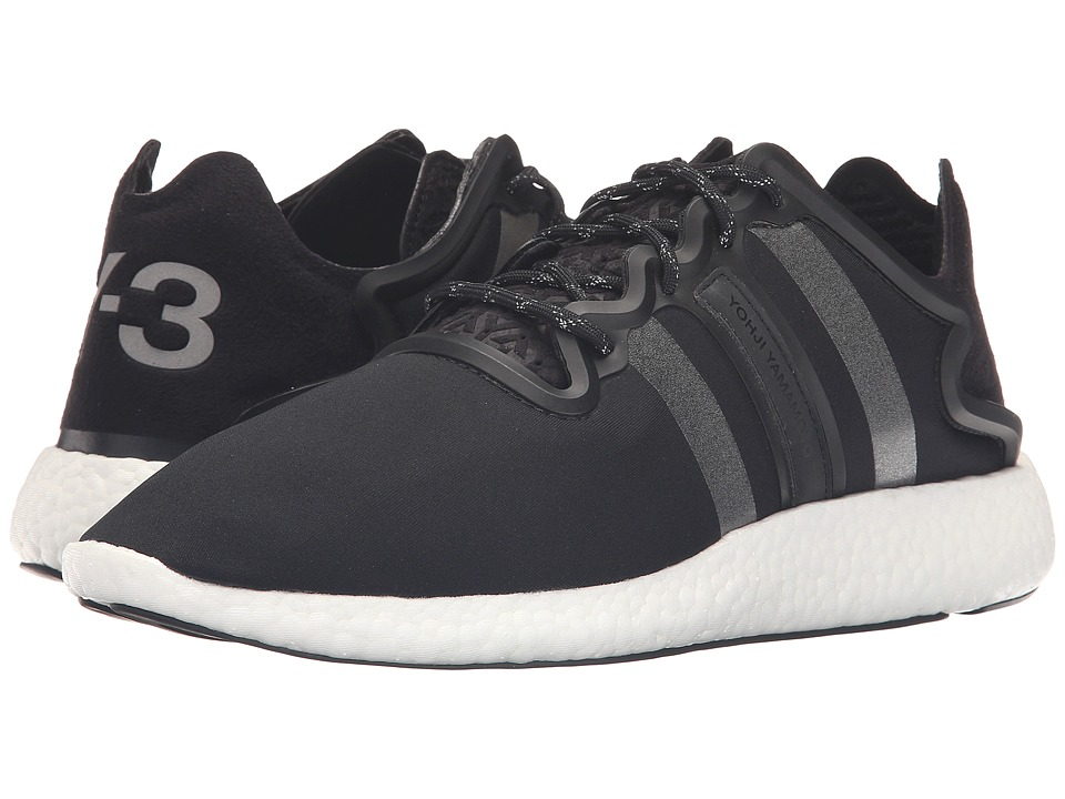 adidas Y-3 by Yohji Yamamoto - Yohji Run (Core Black/Reflective/FTW White) Shoes