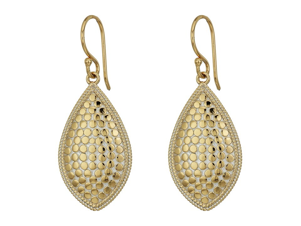 Anna Beck - Almond Earrings (Gold/Silver) Earring