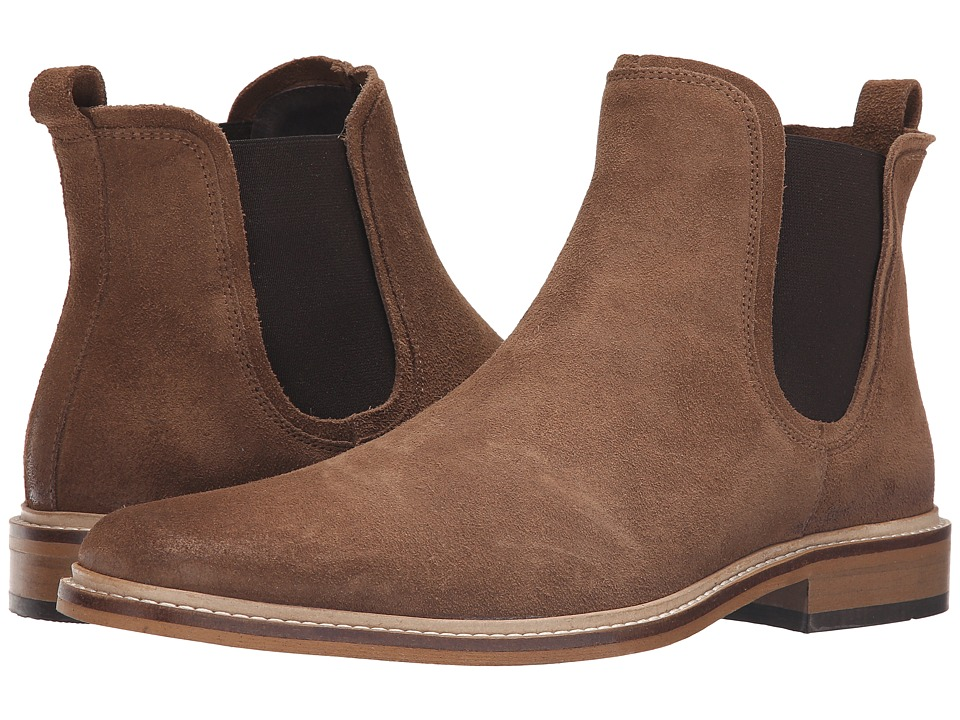 Dune London - Manderin (Taupe Suede) Men's Pull-on Boots