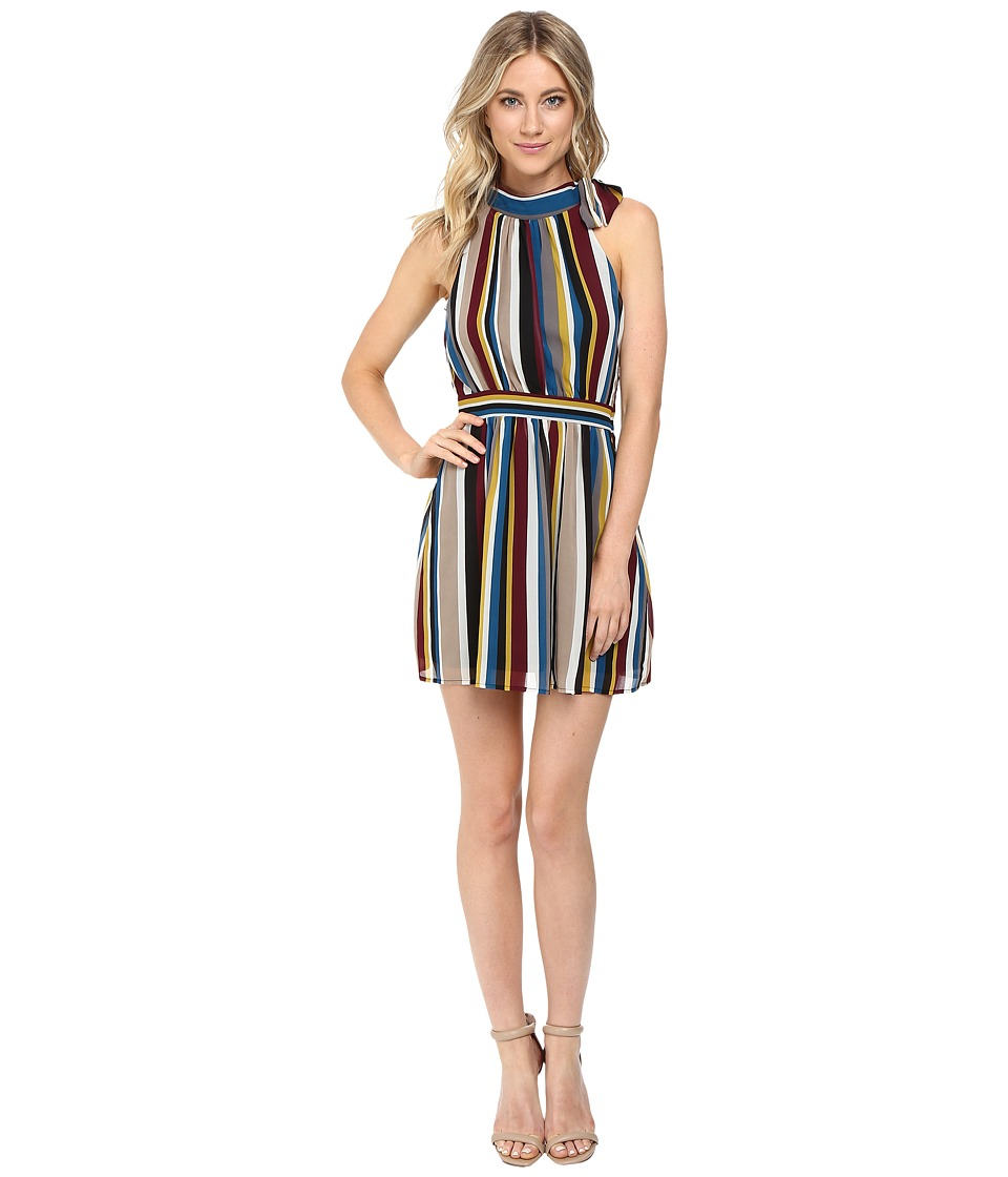 Brigitte Bailey - Huntington Striped Dress (Stripe Multi) Women's Dress