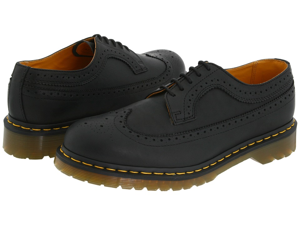 Dr. Martens - 3989 (Black Greasy) Lace up casual Shoes