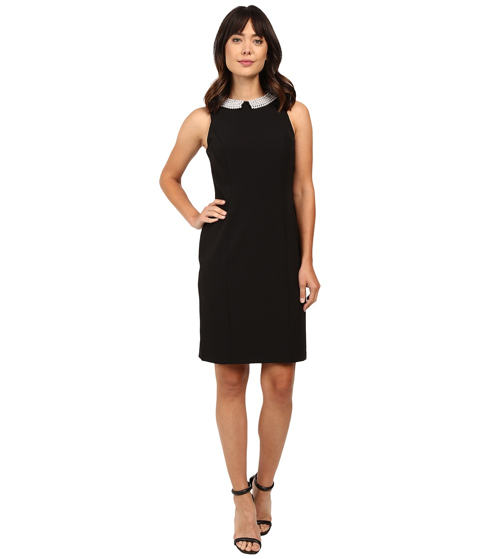 rsvp Brentwood Crepe Sheath Dress (Black) Women