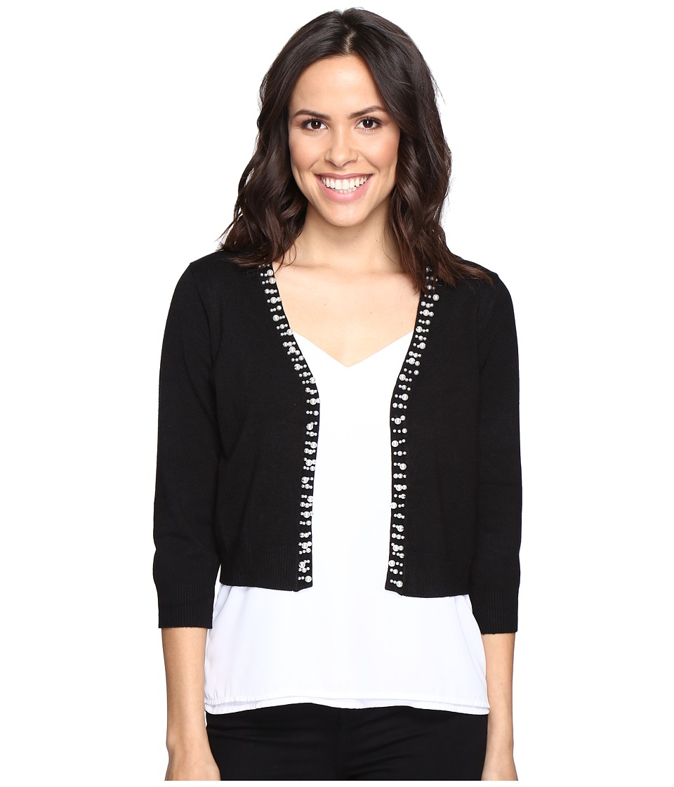 rsvp - Frankfort Embellished Sweater (Black) Women's Sweater