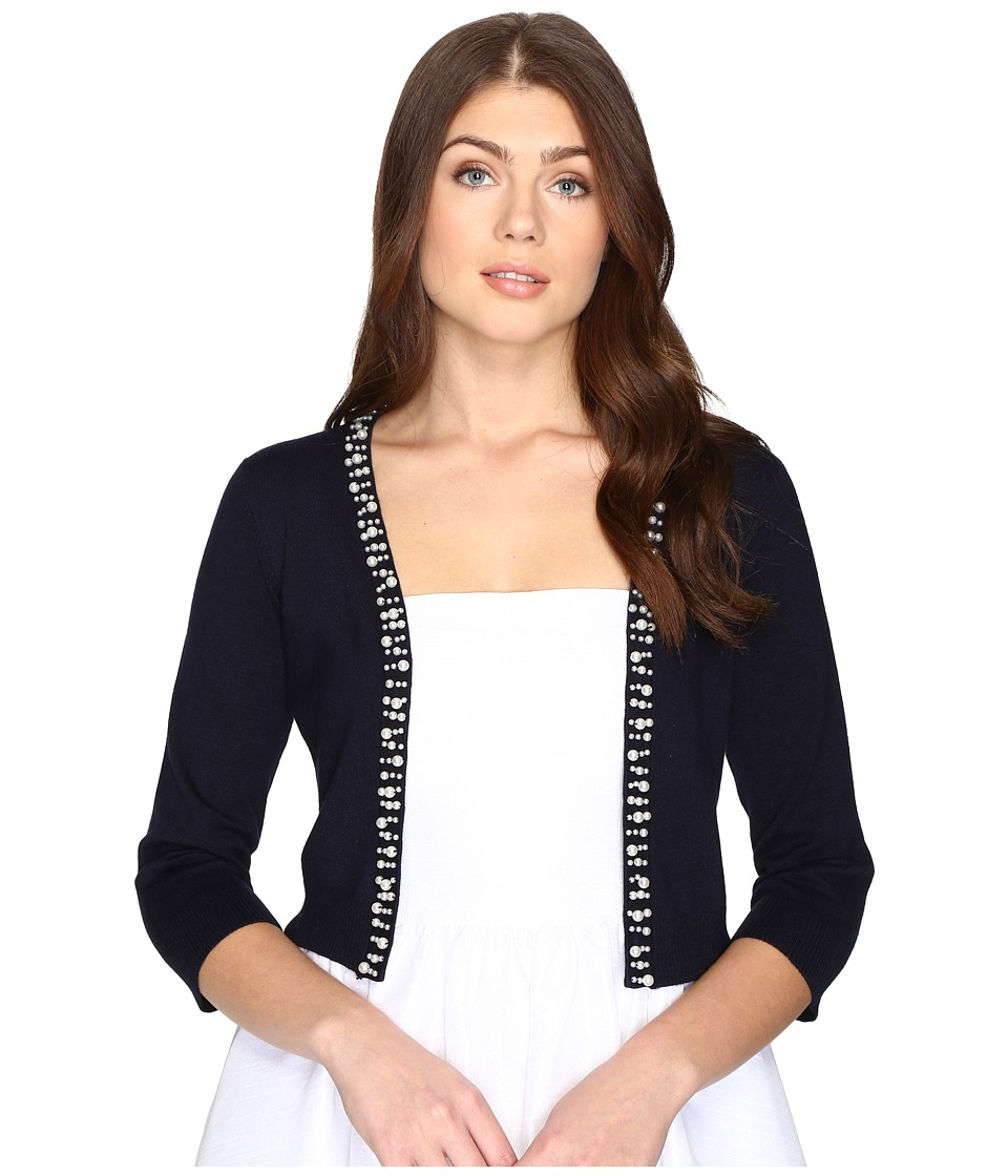 rsvp - Frankfort Embellished Sweater (Navy) Women's Sweater