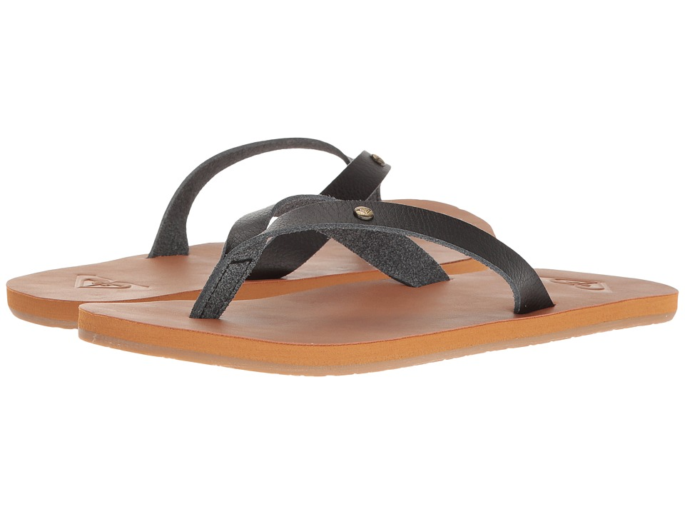 Roxy - Jyll (Black) Women's Sandals