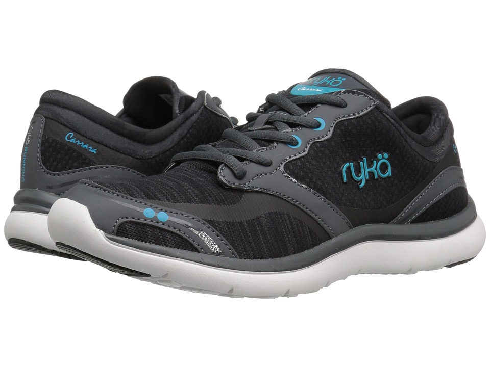 Ryka Carrara (Black/Grey/Bluebird) Women