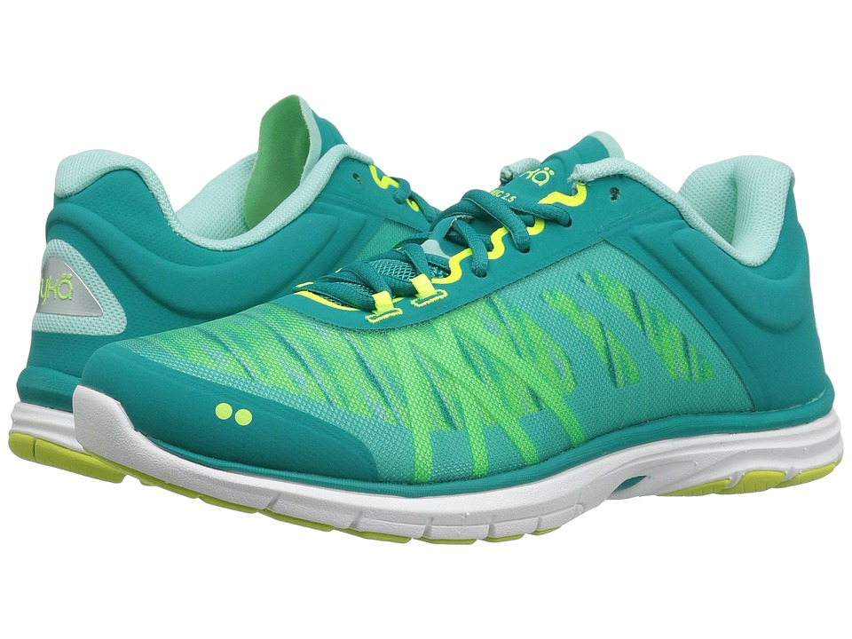 Ryka - Dynamic 2.5 (Tropical Green/Lime) Women's Cross Training Shoes