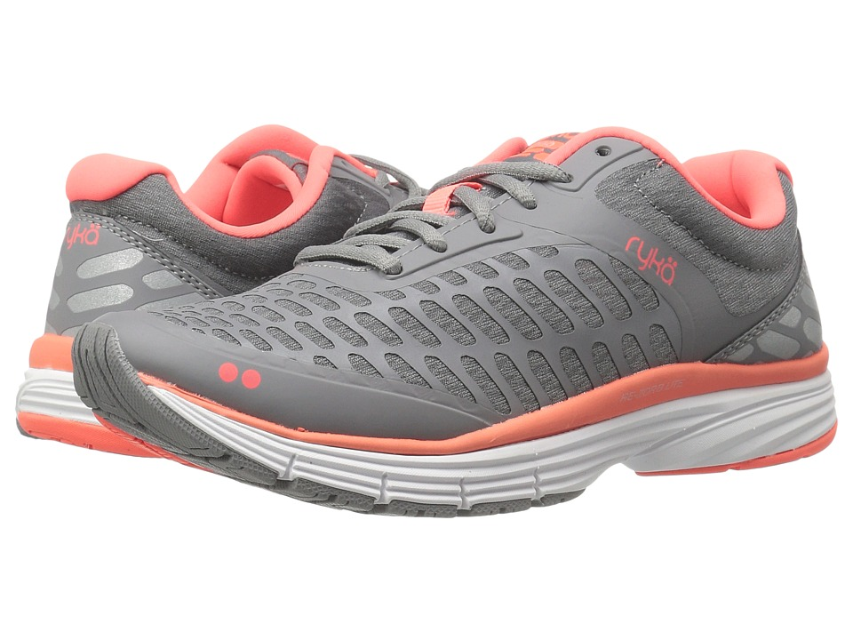 Ryka - Indigo (Grey/Coral) Women's Shoes
