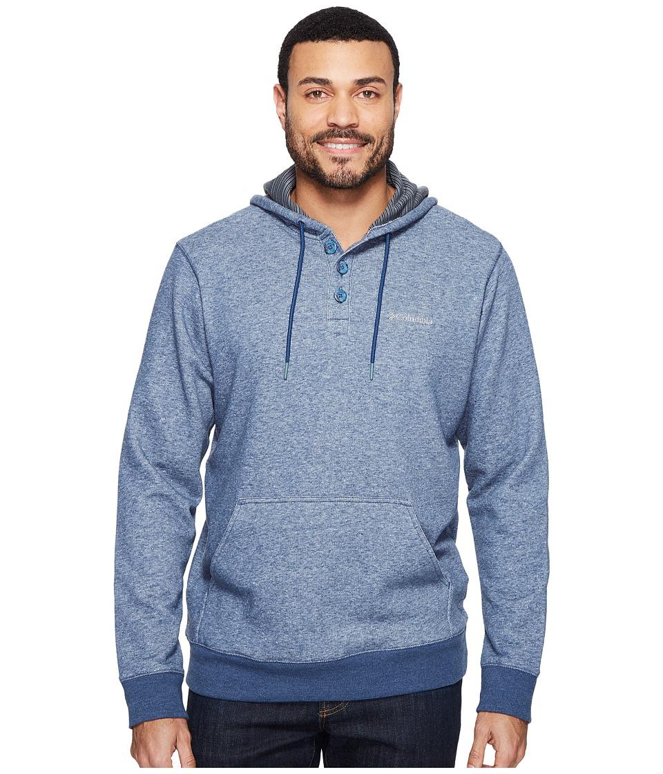 Columbia - Rugged Waterstm Hoodie (Zinc/Shark) Men's Sweatshirt