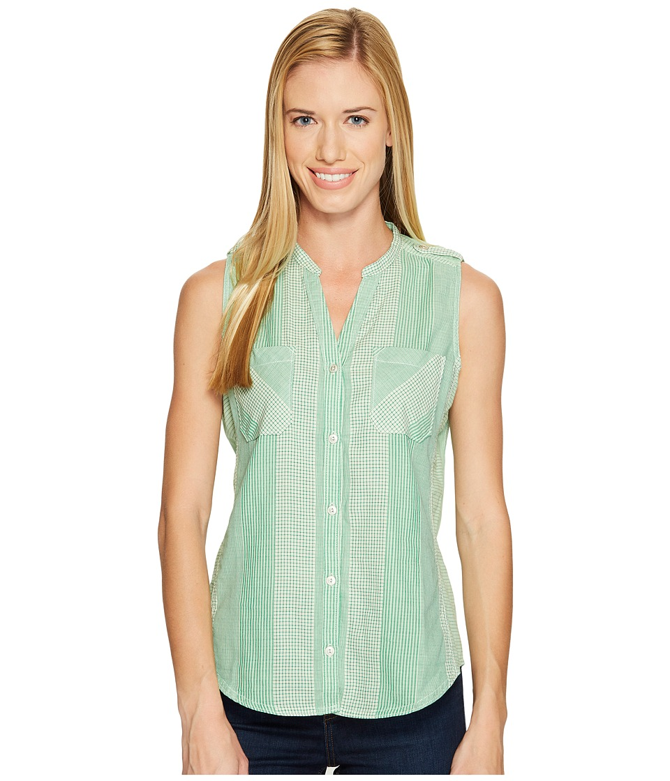 Woolrich - Conundrum Eco Rich Sleeveless Shirt (Lawn) Women's Sleeveless
