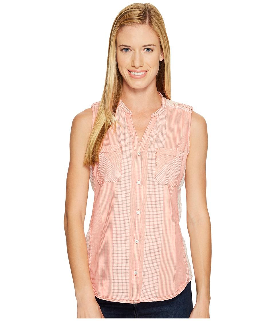 Woolrich - Conundrum Eco Rich Sleeveless Shirt (Teaberry) Women's Sleeveless