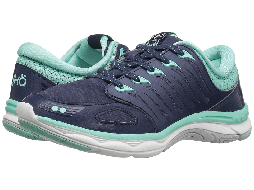Ryka - Flora (Navy/Mint) Women's Shoes