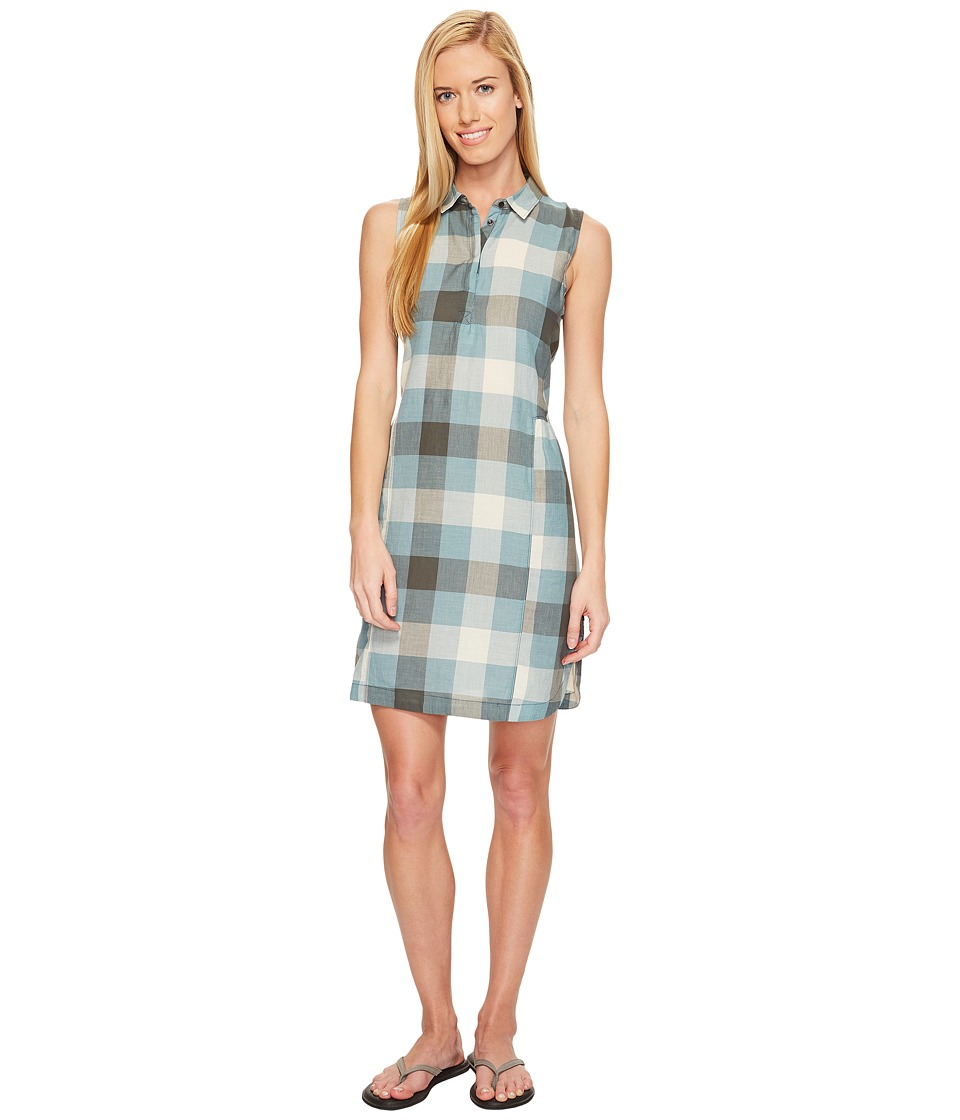 Woolrich - Eco Rich Buffalo Shirtdress (Quarry Blue Check) Women's Dress