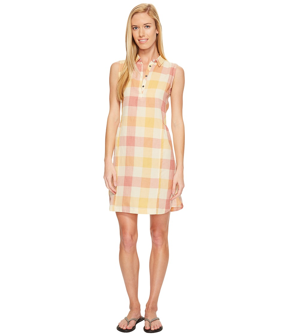 Woolrich - Eco Rich Buffalo Shirtdress (Mineral Yellow Check) Women's Dress