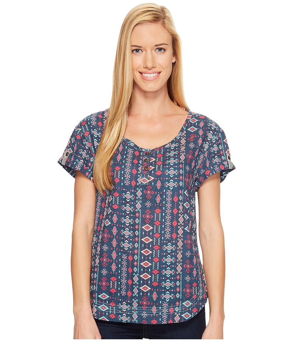 Woolrich - Twin Pines Eco Rich Shirt (Harbor) Women's Clothing