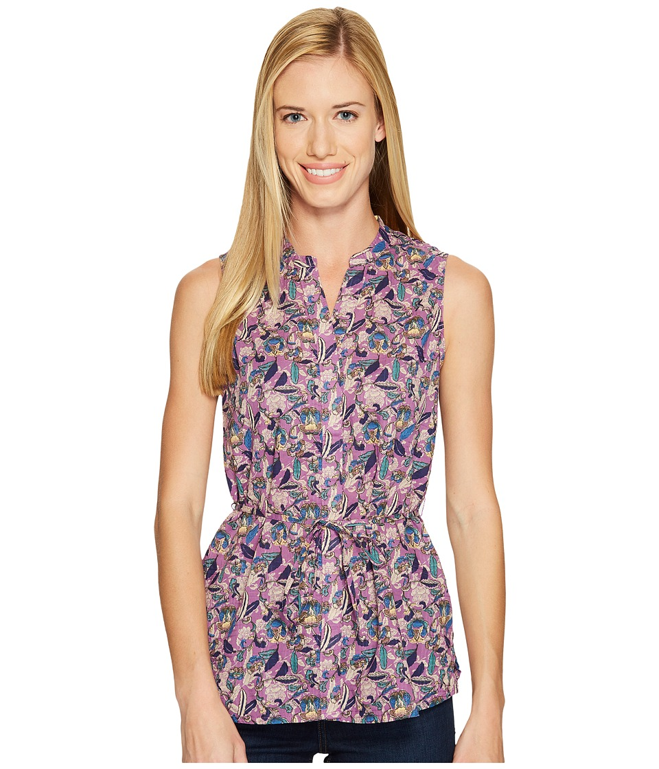 Woolrich - Twin Pines Eco Rich Sleeveless Shirt (Hydrangea) Women's Sleeveless
