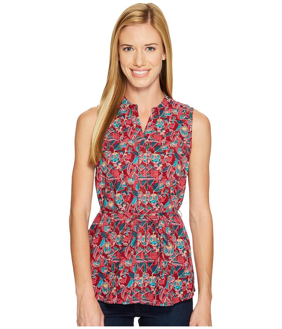 Woolrich - Twin Pines Eco Rich Sleeveless Shirt (Rhubarb) Women's Sleeveless