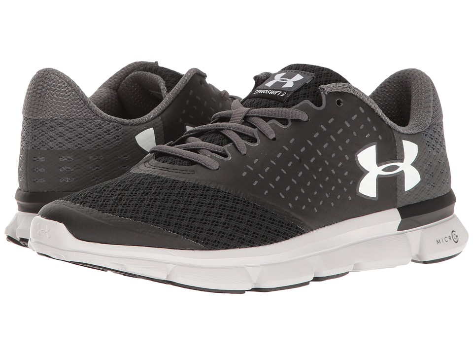 Under Armour - UA Micro G Speed Swift 2 (Black/Rhino Gray/White) Women's Running Shoes