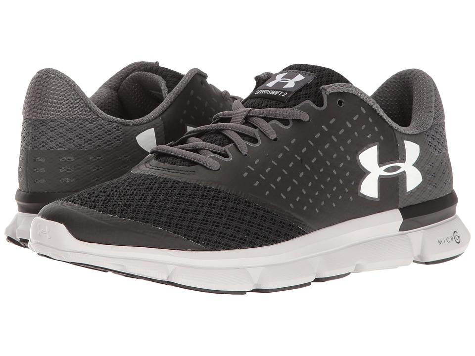 Under Armour - UA Micro G Speed Swift 2 (Black/Rhino Gray/White) Women's Running Shoes