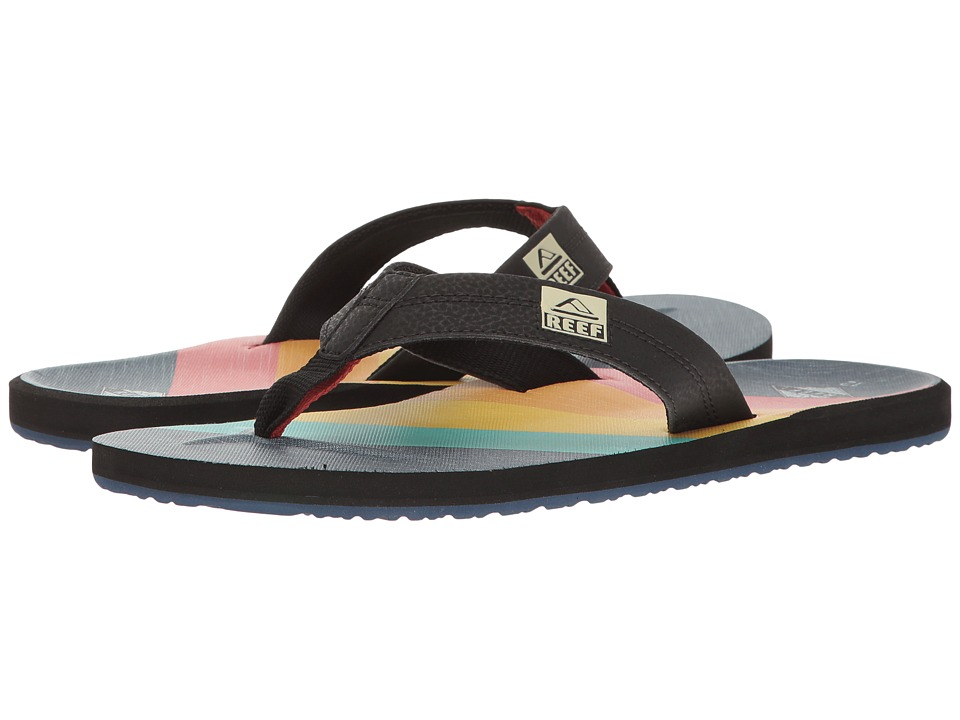 Reef - HT Prints (70s Blue) Men's Sandals