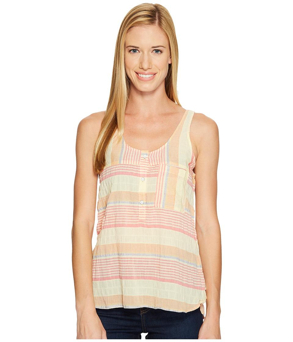Woolrich - Spring Fever Eco Rich Tank Top (Golden Haze Stripe) Women's Sleeveless