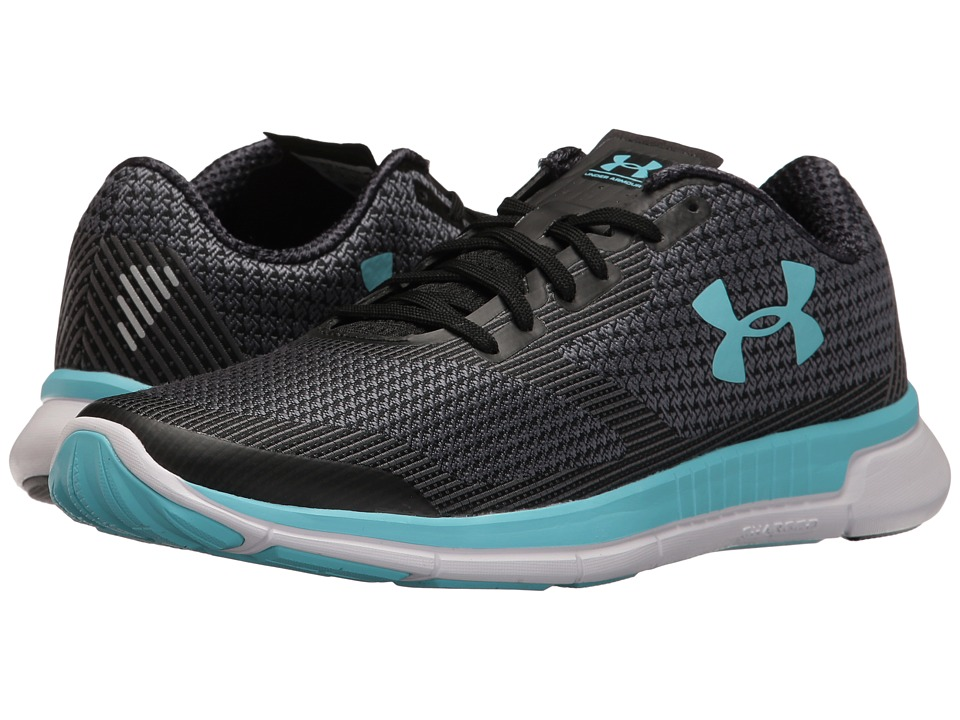 Under Armour - UA Charged Lightning (Rhino Gray/Black/Venetian Blue) Women's Running Shoes