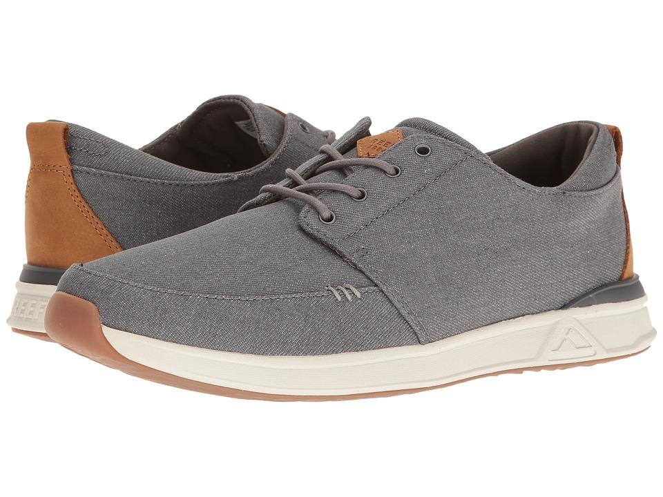 Reef - Rover Low TX (Denim/Grey) Men's Shoes