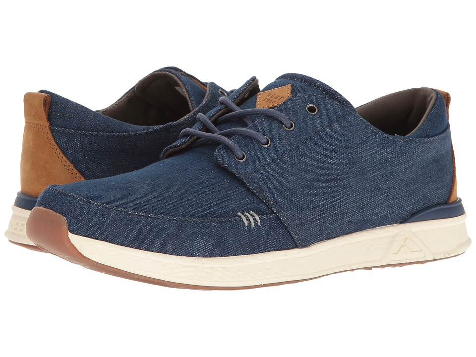Reef - Rover Low TX (Navy/Denim) Men's Shoes