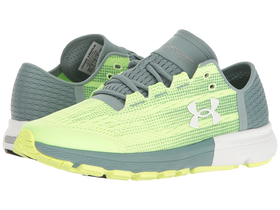Under Armour - UA Speedform Velociti (Lime Fizz/Fresco Green/White) Women's Running Shoes