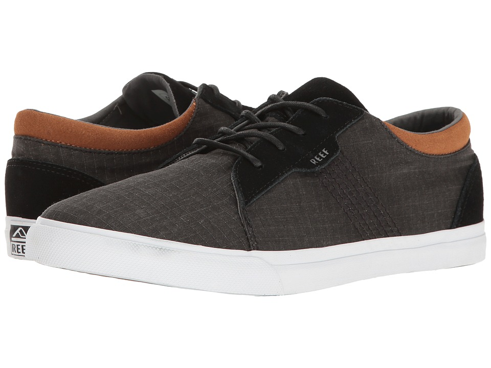 Reef - Ridge TX (Black) Men's Lace up casual Shoes