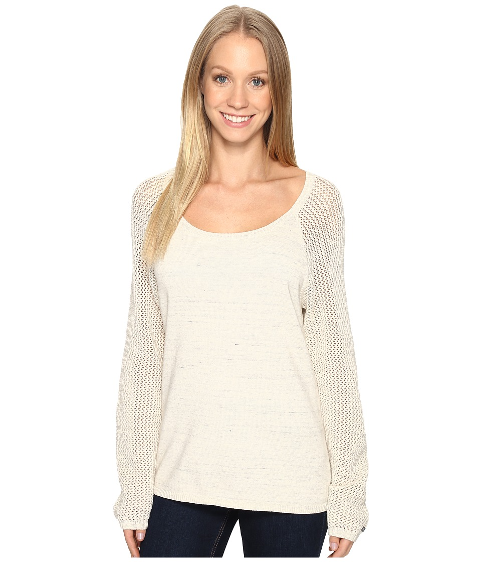 Columbia - Camp Around Sweater (Chalk) Women's Sweater