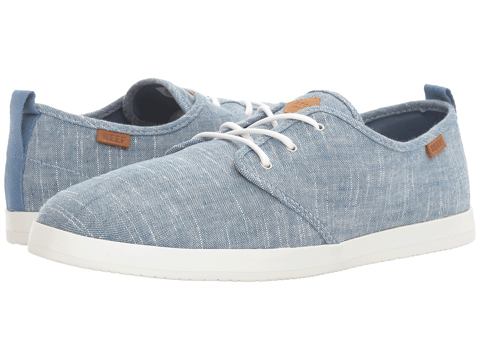 Reef - Landis TX (Blue Chambray) Men's Lace up casual Shoes