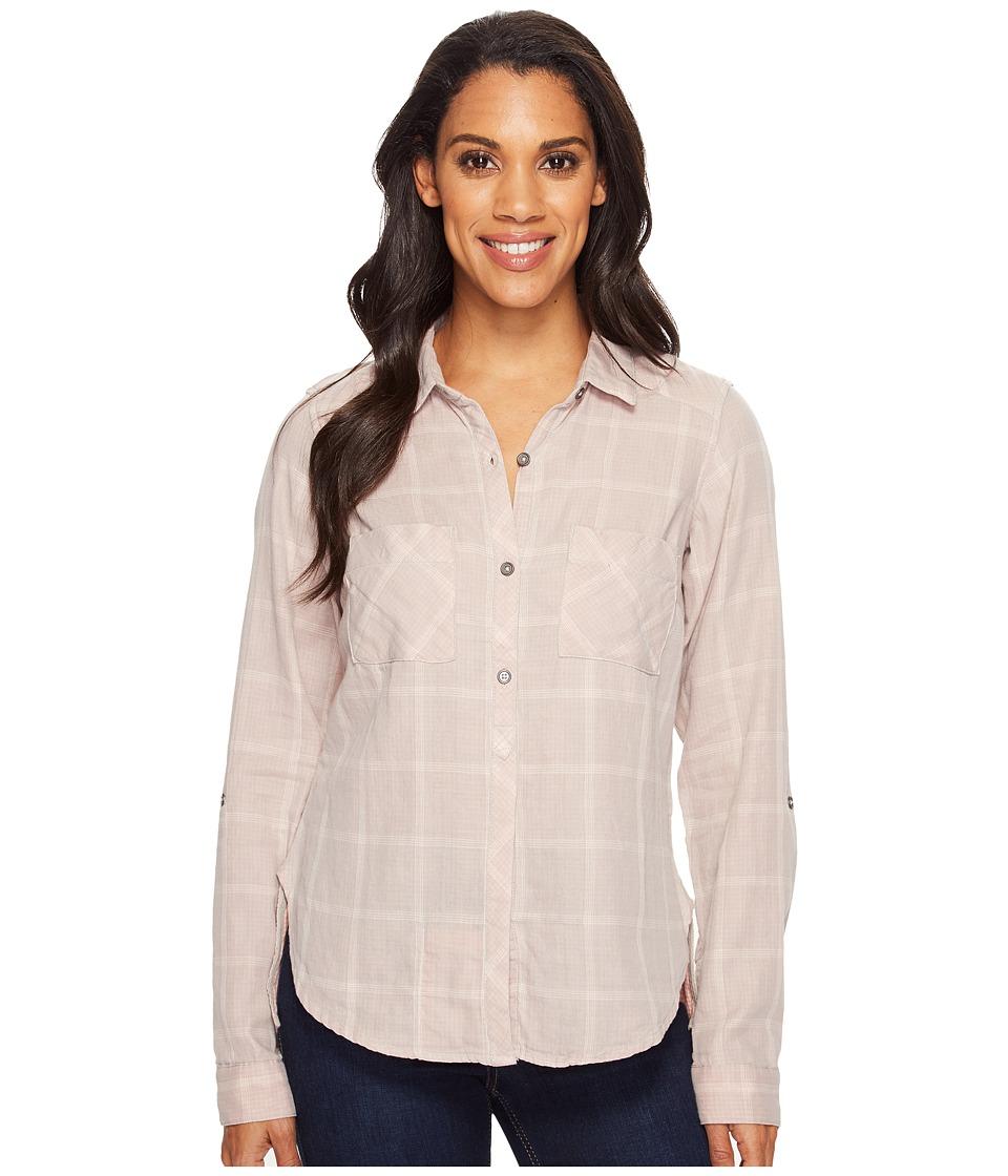 Columbia - Trail On Long Sleeve Shirt (Flint Grey) Women's Long Sleeve Button Up