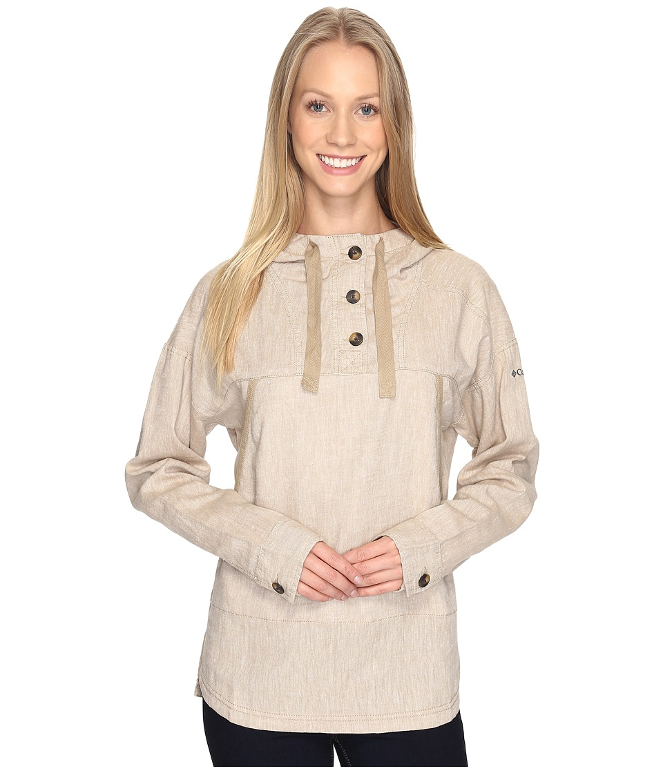 Columbia - Summer Time Anorak (British Tan) Women's Sweatshirt