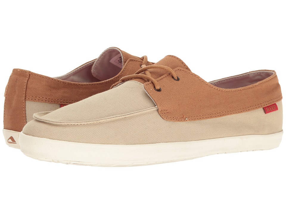 Reef - Deckhand Low (Tan) Men's Shoes
