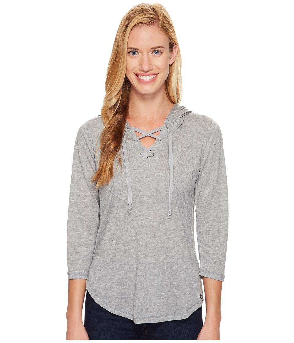 Woolrich - Park Rapids Eco Rich Hoodie (Stoneware Heather) Women's Sweatshirt