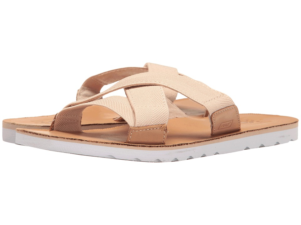 Reef - Voyage Slide (Natural) Women's Sandals